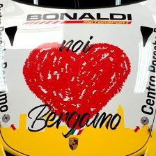 Moretti con la livrea per Bergamo