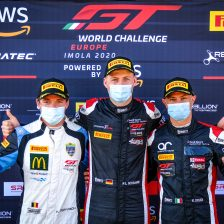 Drudi in pole a Imola nel GT World