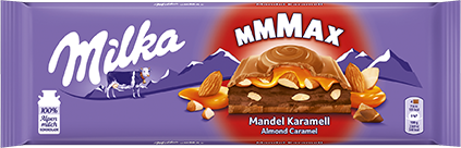 Milka Mandel Karamell 300g