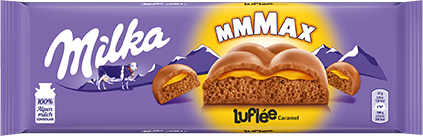 Milka Luflée Caramel 250g