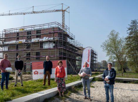 Wijk Elsbos krijgt steeds meer vorm: Volkswelzijn start bouw twee flatgebouwen