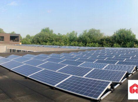Duurzaam ondernemen: nieuwe zonnepanelen