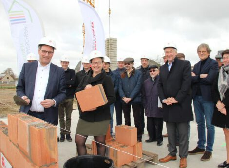 Sociaal huisvestingsproject op site De Waele geeft zinvolle bestemming aan oud fabrieksterrein