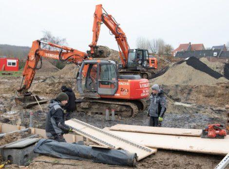 Sociale huisvestingsmaatschappij bouwt 35 sociale woningen in Volkegem