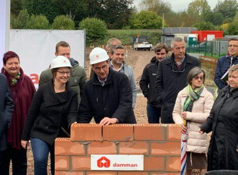 6 nieuwe huizen en 13 appartementen in Oudenaarde