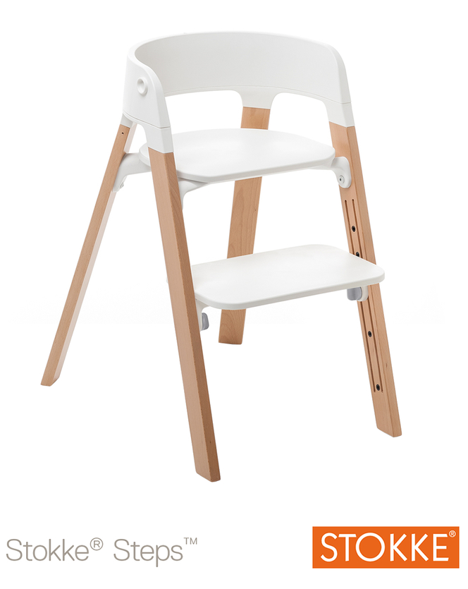 stokke sedia stokke steps natural prezzi migliori offerte. Black Bedroom Furniture Sets. Home Design Ideas
