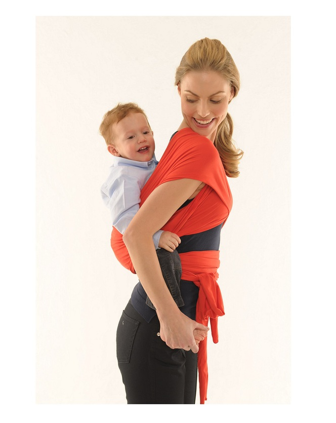 Foto Babywrap - Rosso energia 40 Settimane