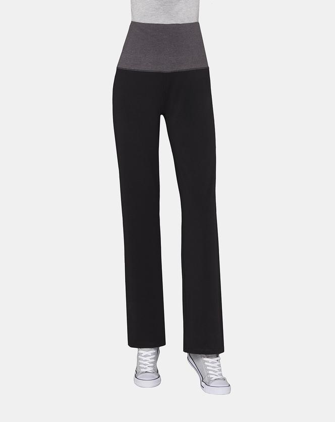 Foto pantaloni in cotone stretch nero Prénatal