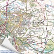 Personalised Greatest Dad OS Map Jigsaw Puzzle