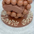 Personalised Malteser Head with Hat and Moustache