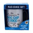 Chocolate Mug Cookie and Mug Gift Set