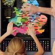 England Football Stadium Scratch-Off Map