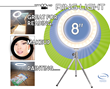 """8"""" Ring Light with Tripod"""