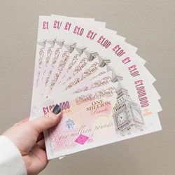 10 One Million Pound Notes | Instant Multi-Millionaire!