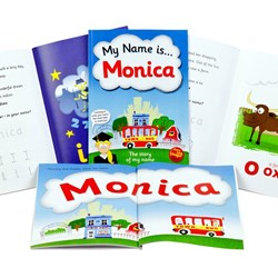 Personalised Story Book - My Name is...