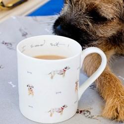 I Said Sit! Border Terrier Mug