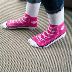 Sneaker Socks - Pink - very cool! | Sneaker Socks - Pink
