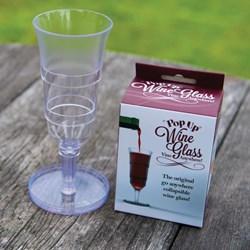 Pop Up Wine Glass