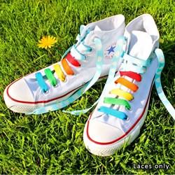 Rainbow Crazy Laces