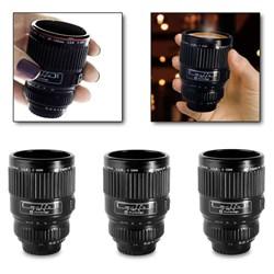 Camera Lens Shot Glasses or Espresso Cups
