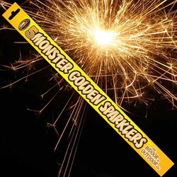 Monster Sparklers pack of 5: Giant Sparklers