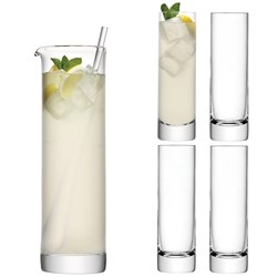 Contemporary Long Drink Glass Set
