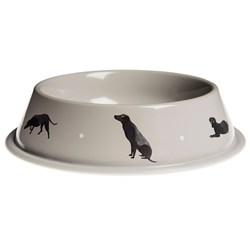 Black Labrador Design - Dog Bowl