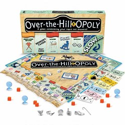 Over The Hill Opoly Game