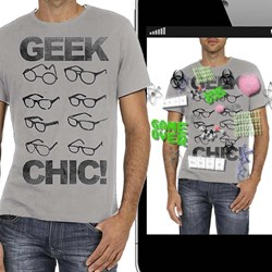 Geek Chic Interactive T-Shirt | Augmented Reality