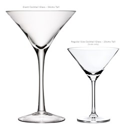 Giant Cocktail Glass | | LSA Handmade Cocktail Glass