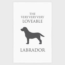 Loveable Labrador Tea Towel | Labrador Tea Towel