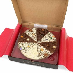 Belgian Chocolate Pizza - Delicious Dilemma | Chocolate Mix