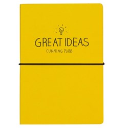 Great Ideas Cunning Plans Notebook | Happy Jackson Collection
