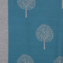 Tree of Life Jacquard Scarf - Teal