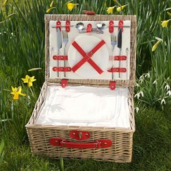 Two Person Chilled Wicker Hamper | Picnic Basket