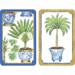 Potted Palms Playing Cards