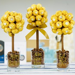 Personalised Ferrero Rocher Sweet Tree