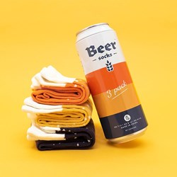Beer Socks In A Can