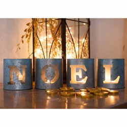 Noel Tea Light Holders