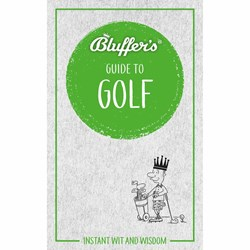 Bluffers Guide to Golf Book