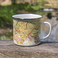 Explorer's Enamel Mug