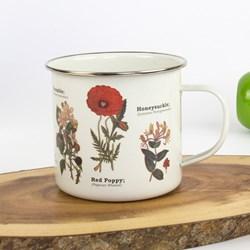 Wild Flowers Enamel Mug