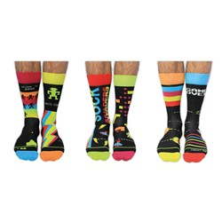 Sock Invaders Men's Odd Socks