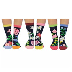 Up The Garden Path Ladies Odd Socks
