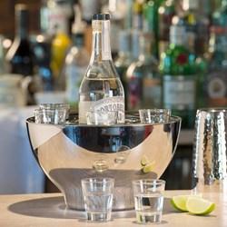 Spirit Cooler Bowl With Six Shot Glasses