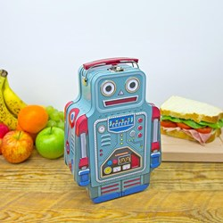 Robot Shaped Lunch Box