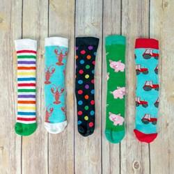 Children's Wellie Boot Socks