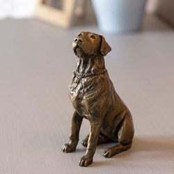 Labrador Bronze Sculpture