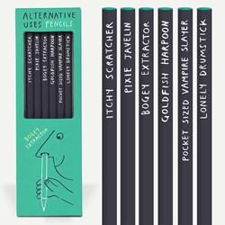 Alternative Use Pencils | Set of 6