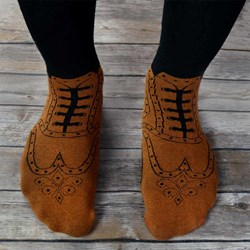 Brogue Socks